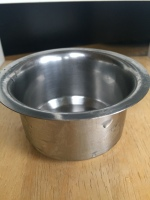 Small bowl for pouring dosa